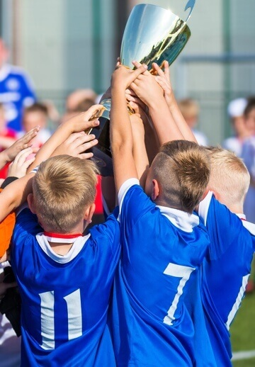 organize sports teams - trophy