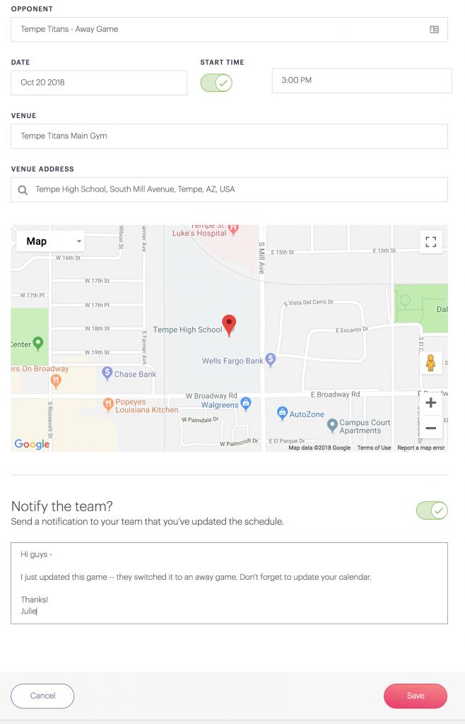 Cool Team Tool App Tips Notify Team