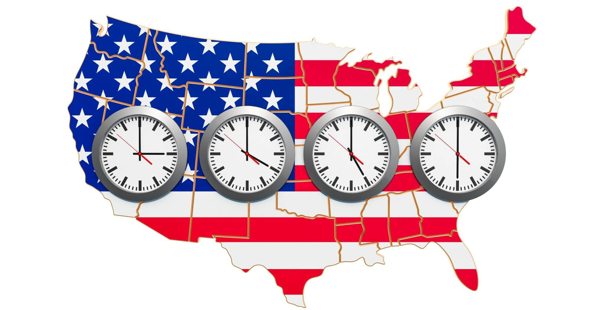 USA time zones for signups