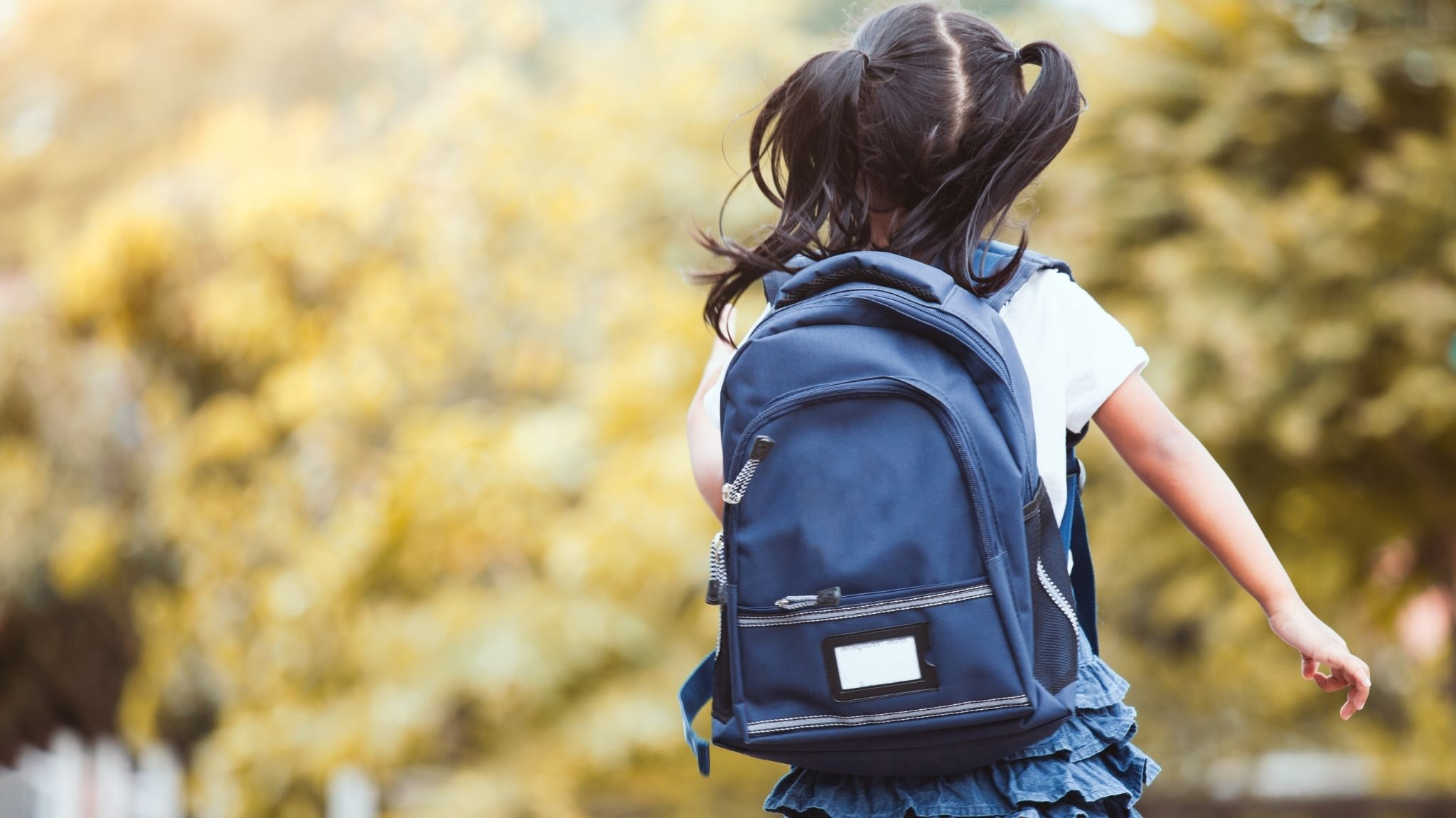 create an adopt a family signup girl with backpack